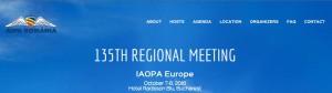 IAOPA 135th Regional Meeting